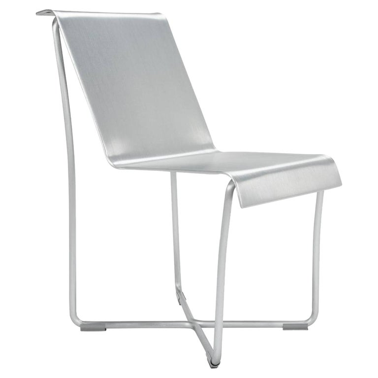 Emeco Superlight Chair in Brushed Aluminum by Frank Gehry For Sale