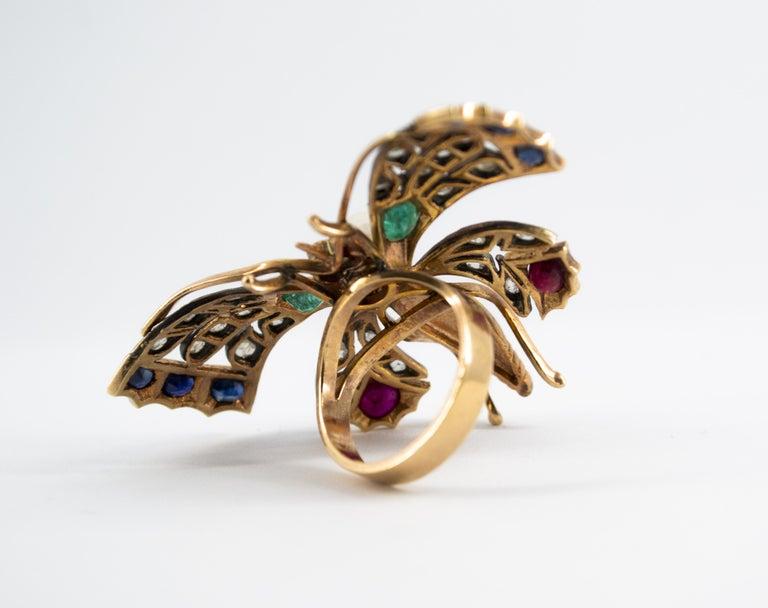 Emerald Blue Sapphire Ruby Pearl Diamond Yellow Gold