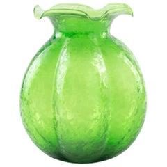 Emerald Bulb Vase, Northern Europe, 1970