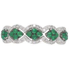 Emerald and Diamond Wave Band