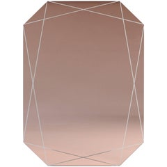 Emerald Etched Mirror Peach