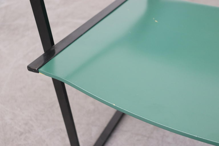 Emerald Green Cube Chairs by Radboud Van Beekum for Pastoe For Sale 2