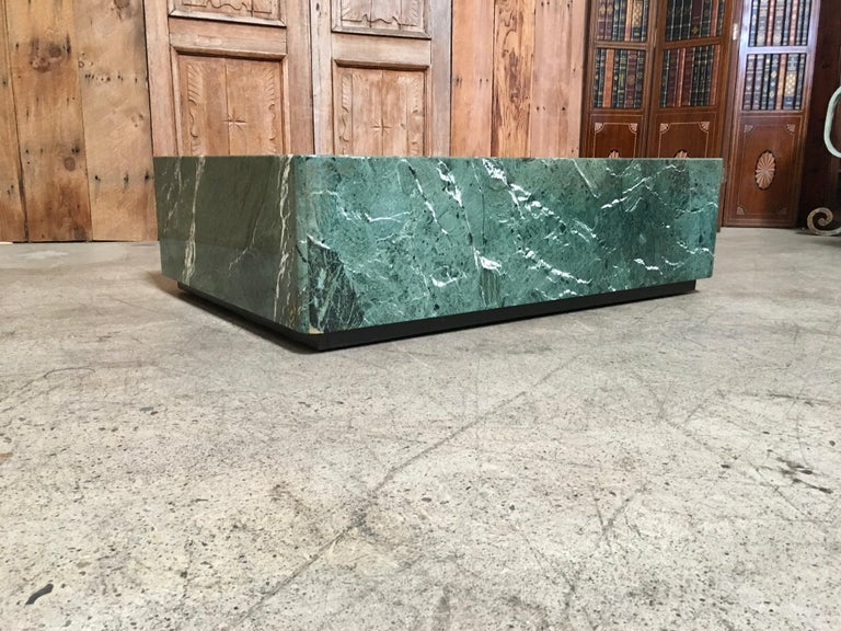 Emerald Green Marble Coffee Table At 1stdibs