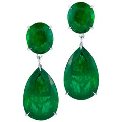 Emerald Hollywood Earring by Takat