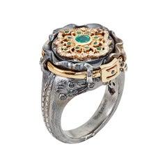 Emerald Juliette Jeans Ring