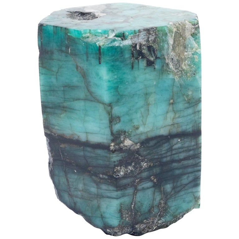 Smoky Pearl Furniture Painting Technique Captiva: Emerald Mineral Specimen From Colombia For Sale At 1stdibs