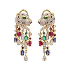 Diamond Clip-on Earrings