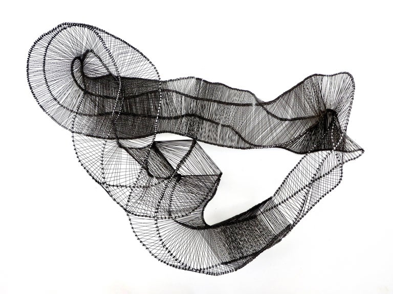 Steel Emergence Mobius Sculpture by Eric Gushee, 2018 For Sale