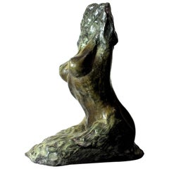 Emergent Figure, Contemporary Bronze