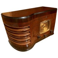 Emerson 167 Art Deco Restored Tube Radio Bluetooth