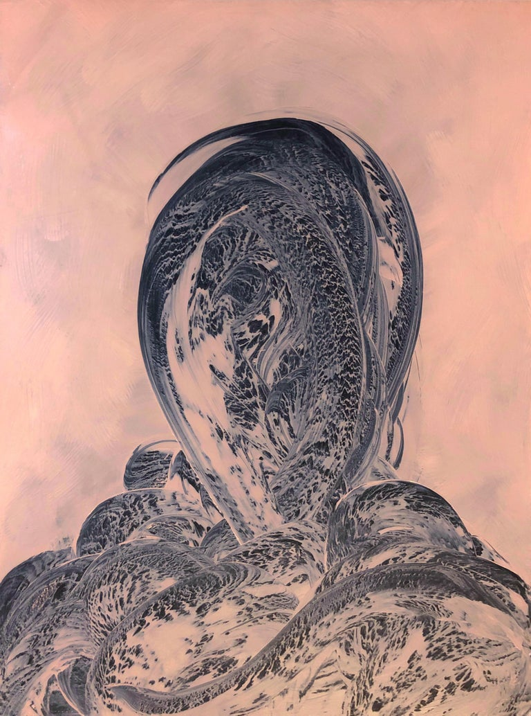 "Emil Alzamora Abstract Painting - ""Return To Jupiter"""
