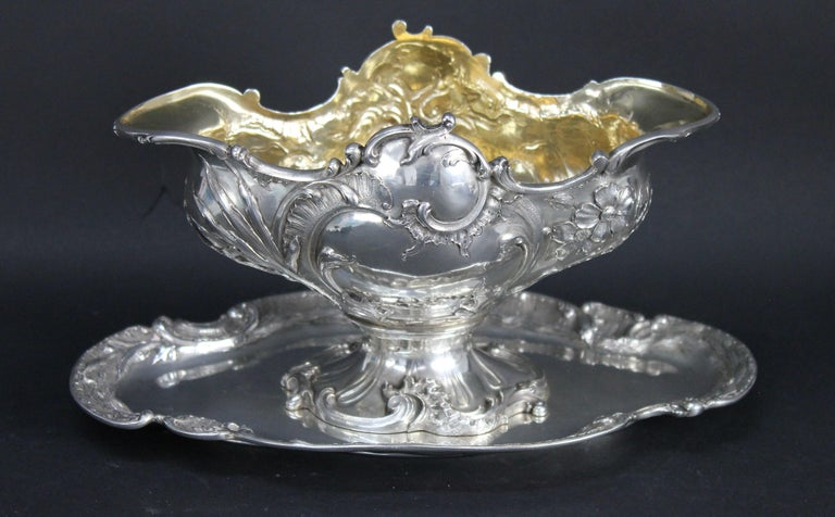 Rococo Wolfers Frères. Goldschmidt, Köln Germany, Silver ca 1900