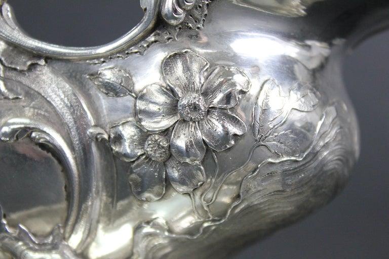 Wolfers Frères. Goldschmidt, Köln Germany, Silver ca 1900 In Good Condition In Skanninge, SE