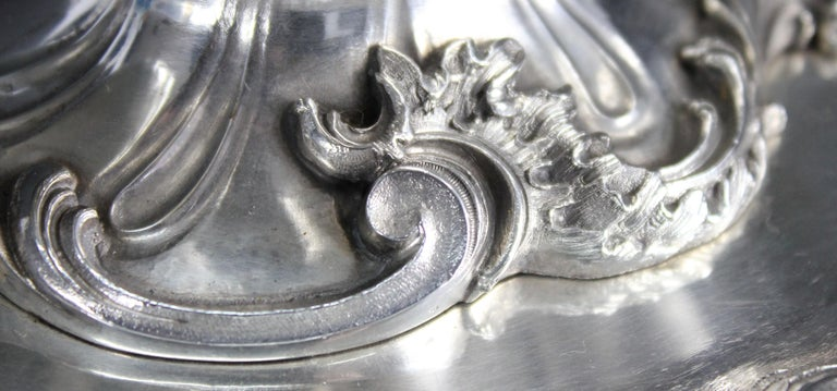 Wolfers Frères. Goldschmidt, Köln Germany, Silver ca 1900 1