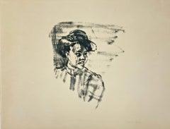 "German Expressionist Print by Emil Nolde ""Köpfchen"""