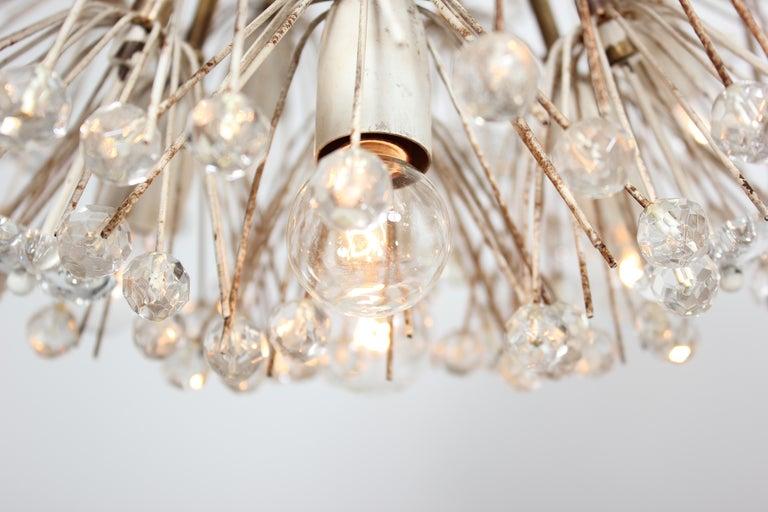 Emil Stejnar Dandelion Sputnik Crystal Chandelier For Sale 1