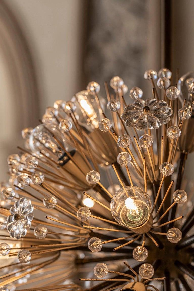 Emil Stejnar Sputnik Pendant In Good Condition For Sale In Carpaneto Piacentino, Italy