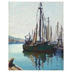 Emile Albert Gruppe Fishing Boats Gloucester