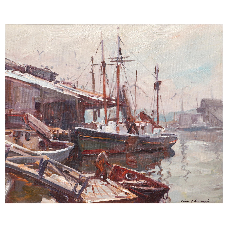 Emile Albert Gruppe Gloucester Docks