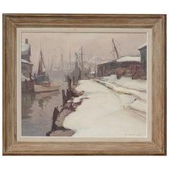 "Emile Albert Gruppe ""Gloucester Winter"", 1955"