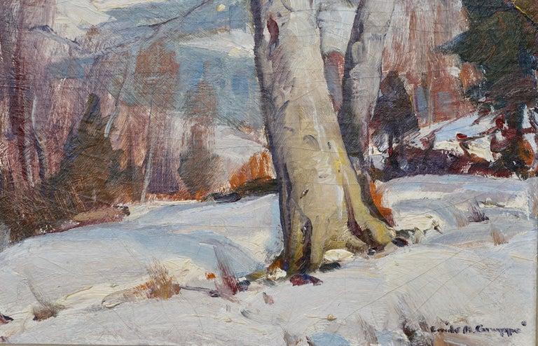 American Emile Albert Gruppe Winter Morning Vermont