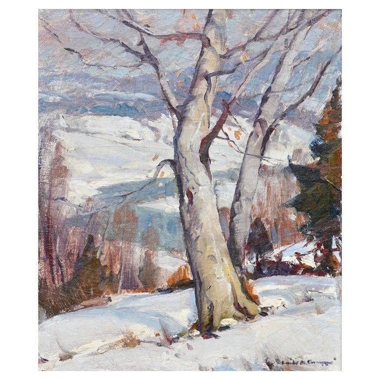 Emile Albert Gruppe Winter Morning Vermont