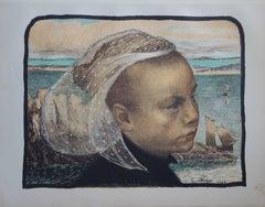 Brittany - original lithograph (1897-1898)