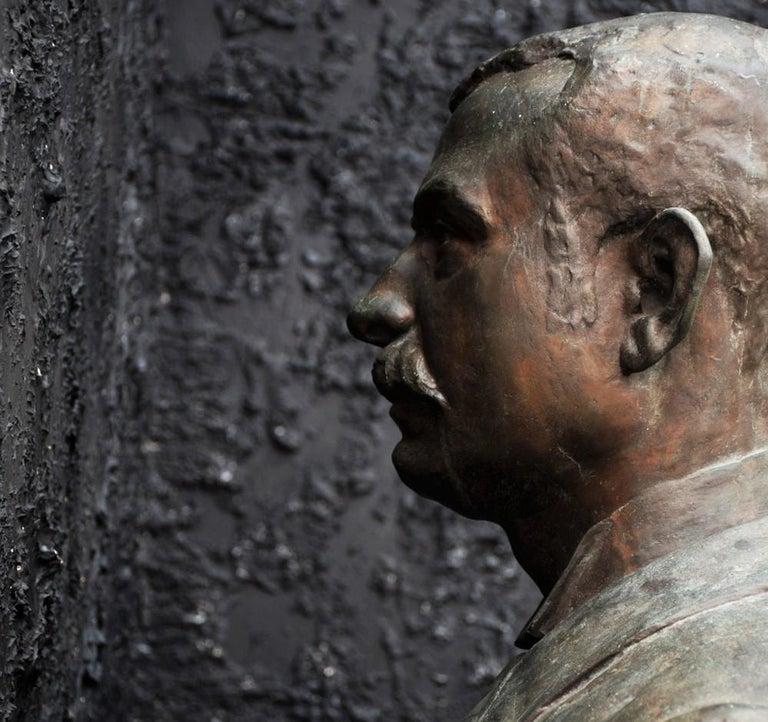 Emile Daviol Signed Bronze Bust For Sale 1