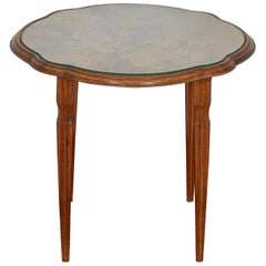 Emile Galle Art Nouveau Round Low Table