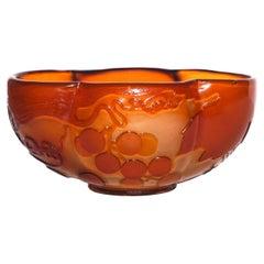 Emile Gallé Fire Polished Art Nouveau Vase