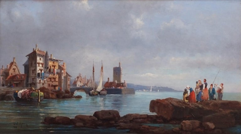 Marines in pair, Paintings 19th Century For Sale 2