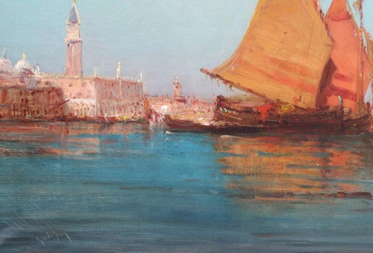 Paintings 19th Century - Orientalist Marines in pair For Sale 3