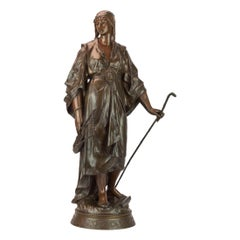 Woman with a Walking Stick