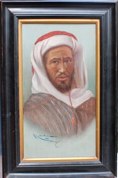 Oil Painting Portraits of the Tangiers Bedouin