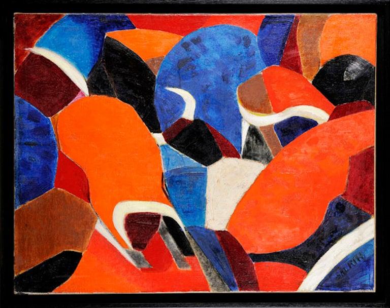 European Emile salkin, Tauromachie, Malaga, 1959 For Sale
