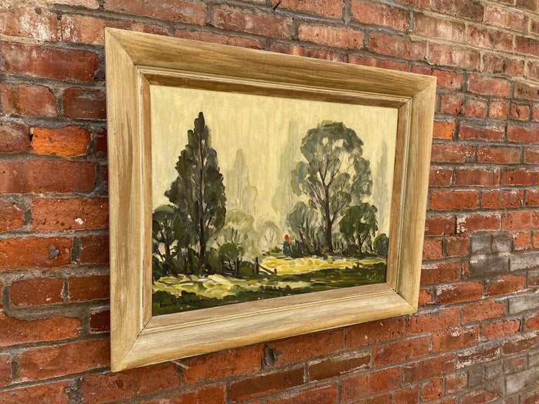 American Emile Walters Landscape Painting For Sale