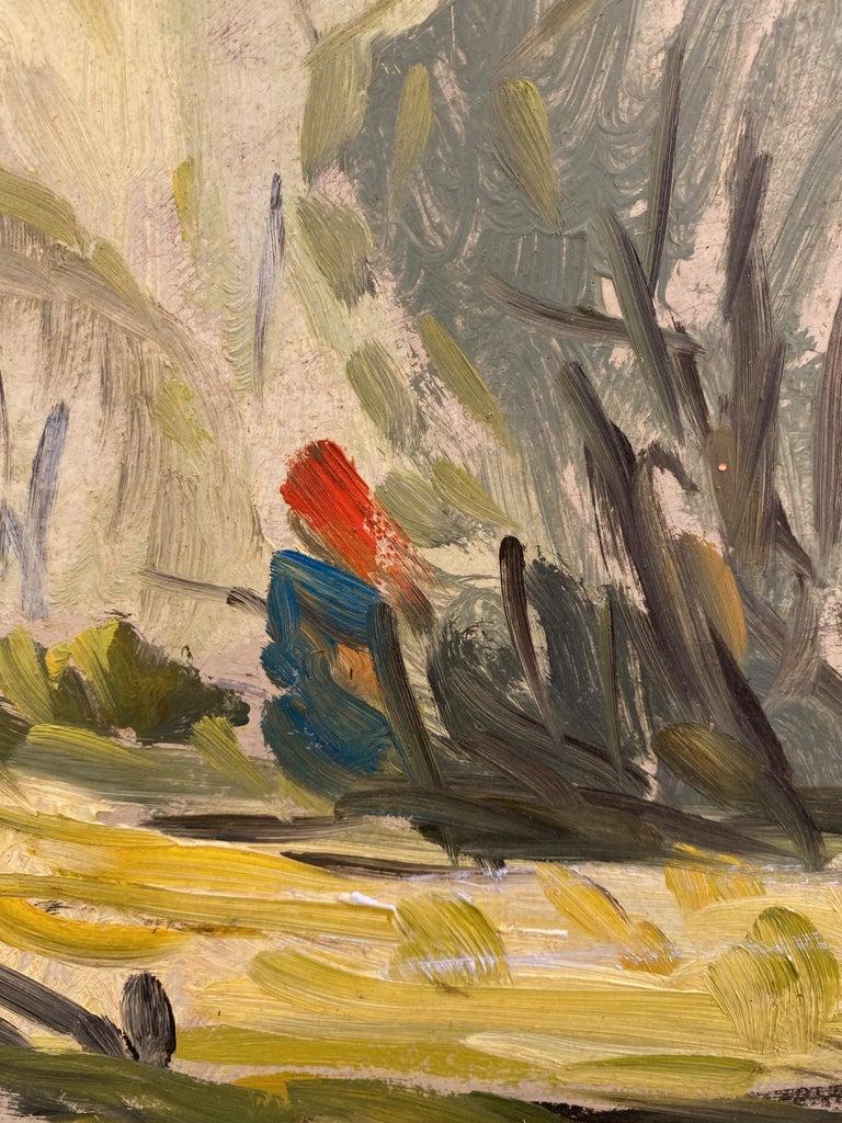 Emile Walters Landscape Painting For Sale 2