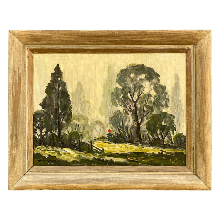 Emile Walters Landscape Painting For Sale