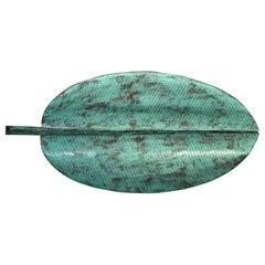 Emilia Castillo Large Copper Banana Leaf Tray