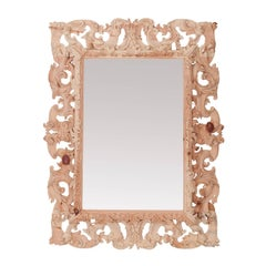 Emiliana Carved Wood Mirror