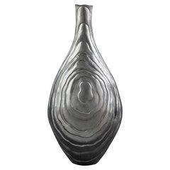 Emiliano Céliz, Coexistence II, Silver Plated Vase, Argentina, 2020
