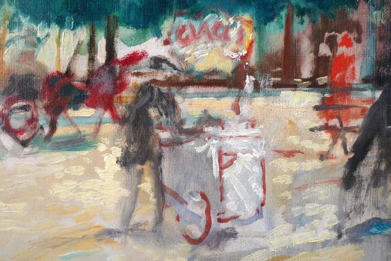 EMILIO GRAU SALA Spanish, 1911 - 1975 BOULEVARD OF PARIS signed Grau Sala (lower right) oil on canvas 25-1/2 X 32 inches (65 X 81 cm.) framed: 36-1/4 X 42-1/2 inches (92 X 108 cm.)  PROVENANCE Sale: Sotheby´s Olympia London, 20 October 2006  Emilio