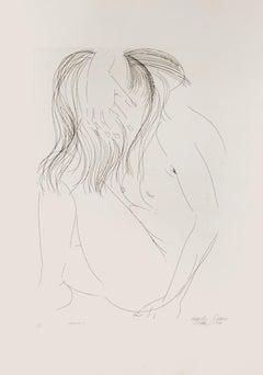 Aretusa No.4 - Original Etching by Emilio Greco - 1971