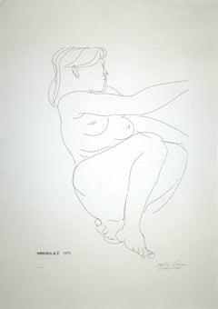 Memoria no.2 (Memory no. 2) - Original Etching by E. Greco - 1971