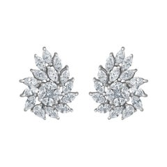 Emilio Jewelry 2.32 Carat Diamond Earrings