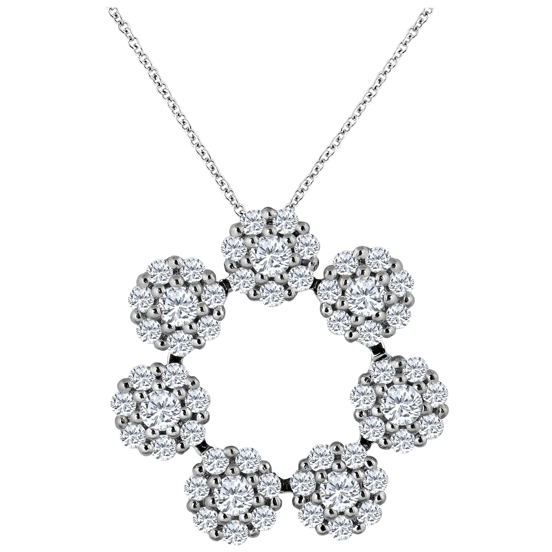 e6d5b2277c4 Emilio Jewelry 17.00 Carat Diamond Necklace For Sale at 1stdibs