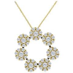 Emilio Jewelry 2.66 Carat Diamond Necklace