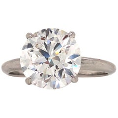 Emilio Jewelry 3.00 Carat Diamond Ring