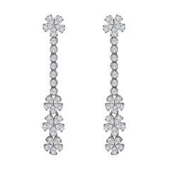 Emilio Jewelry 3.07 Carat Dangle Earrings