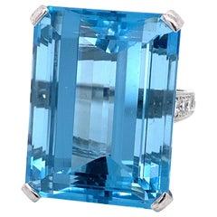Emilio Jewelry 50.00 Carat Aquamarine